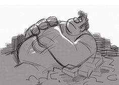 Schwabblog: some designs I did of Wreck it Ralph!