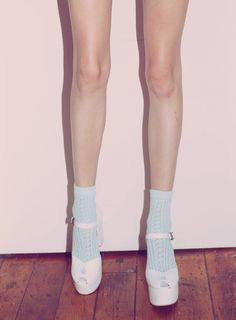 with socks? Jeffrey Campbell Wildfox Couture
