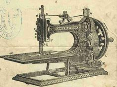 I'm fascinated by antique sewing machines, and thankful for the innovations of the modern ones! Sewing Art, Sewing Tools, Sewing Notions, Sewing Hacks, Sewing Tutorials, Sewing Crafts, Sewing Projects, Sewing Patterns, Sewing Machine History