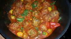 Boulettes de poisson aux olives