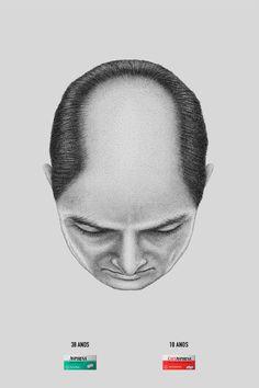 Bald BRONZE (PRINT & PUBLISHING / CANNES 2016) | Clube de Criação