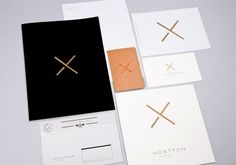 Hoxtton 2011    Identity for a collection of exotic and vintage furniture and accessories (Spain).  (Work done for Germinal Communication)