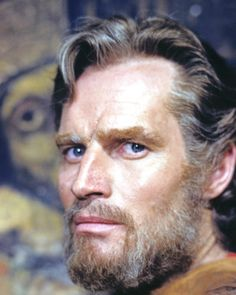 Ben Hur or Charlton Heston.  I don't know why this movie isn't shown at Easter.  It is one of the best movies about Christ.