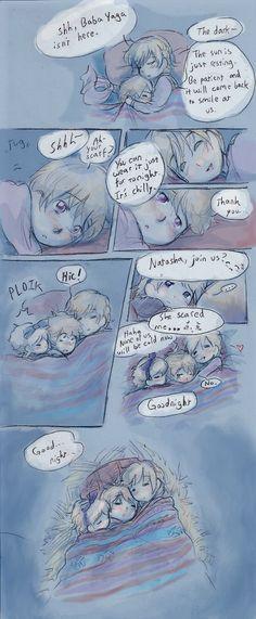 APH: Warm Tonight 2 by NiaNook33.deviantart.com on @deviantART. Soviet Family.<<< *shrieking from the adorableness*