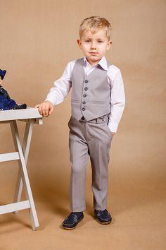 5bec13e7a0 Ring bearer outfit Wedding boy suit Boy wedding outfit Boys Wedding Suits