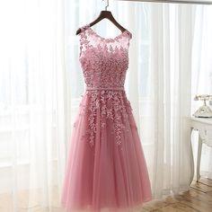 Neue Ankunft Burgund Royal Blue Kurze Brautjungfernkleider 2017 Perlen Appliques Hochzeit Party Kleider Sexy Back robe de soiree