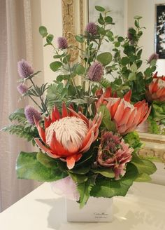 Protea Arrangement (SILK)