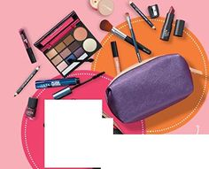 13 Piece ULTA Fall Cosmetics Makeup Bagged Set Purple Metallic ** You can get additional details at