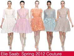 Elie Saab creations