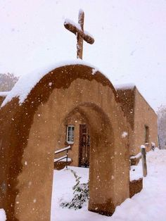 santuario de Chimayo, New Mexico, I've spent a morning her with friends a very strange almost creepy but fascinating atmosphere!