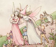 Image detail for -superb ida rentoul outhwaite fairy watercolor drawing outhwaite ...
