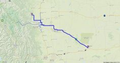 Driving Directions from Medicine Hat, Alberta to Water Valley, Alberta | MapQuest