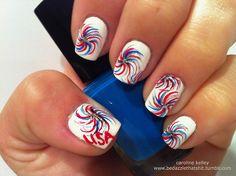 #america #usa #fourthofjuly #nails  #holidaynails