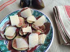 Receta de jamón, higos y parmesano - Como lo que quiero