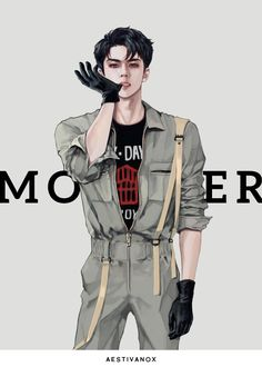 Sehun Exo monster art