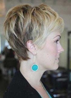 Pixie Sarı Saç Modeli