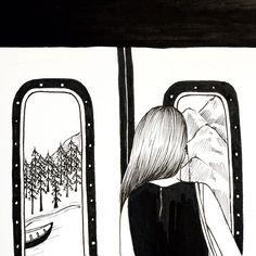 기대(하)지마시오 . . . Henn Kim #subway#tube#window#view