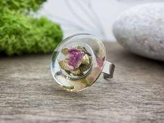 Pici rózsabimbó nemesacél műgyanta gyűrű Silver Rings, Jewelry, Accessories, Jewlery, Jewerly, Schmuck, Jewels, Jewelery, Fine Jewelry