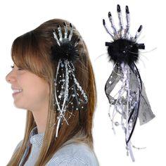 Beistle Skeleton Hand Hair Clip (12ct)