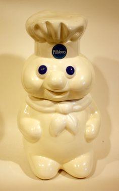 Retro Pillsbury Dough Boy Cookie Jar by gremlina on Etsy, $65.00