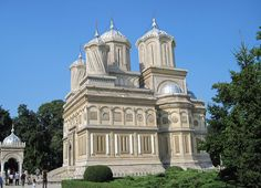 Curtea de Arges, the orthodox cathedral & monastery