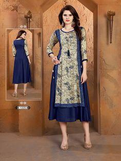 Kurti Sleeves Design, Kurta Neck Design, Kurta Designs, Blouse Designs, Fancy Kurti, New Designer Dresses, Afghan Dresses, Dress Indian Style, Islamic Fashion