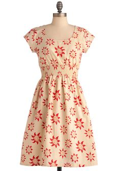 Modcloth.com - Chance of Sunshowers Dress by Mata Traders -