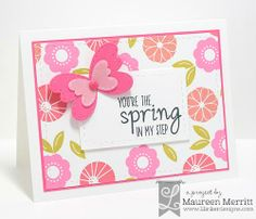 Mama Mo Stamps: Lil' Inker Designs March Release - Day 1 featuring Spot On Spring, Stitched Butterflies & Spring Sentiments