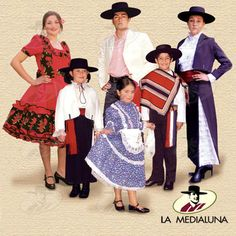 Vestimenta Típica de Chile We Wear, How To Wear, Folk Costume, World Cultures, Traditional Outfits, Dressmaking, Dress Up, Folklore, Kids Learning