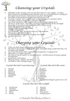 cleansing your crystal | ... Day Blog Challenge, Day 15 – Cleansing and Charging your Crystals
