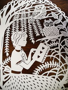 Enchantingly Intricate Papercuts Inspired by Fairy Tales - My Modern Metropolis
