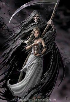 Angel Of Death Tattoo | Tatto Art, Tatto Design, Tatto Pictures