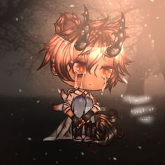 """[New] The 10 Best Home Decor (with Pictures) - """"I'm so tired of love."""" kinda didnt like how it came out but whatever . Gift for because ummm idk Cute Anime Chibi, Kawaii Anime, Kawaii Drawings, Cute Drawings, Anime Wolf Girl, Anime Drawing Styles, Anime Couples Drawings, Bad Art, Cute Funny Animals"""