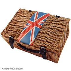 Vertical Union Jack Hamper Sash