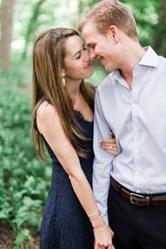Navy blue lace dress for engagement photos! LOVE this whole session by DFW Wedding Photographer Jennefer Wilson