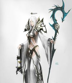 Blizzard needs to make a cloth set JUST like this!   Close: [Greatstaff of the Nexus], [Swiftheal Mantle], [Circlet of Faith], [Robes of Insight] in white... what's the off-hand? o_O