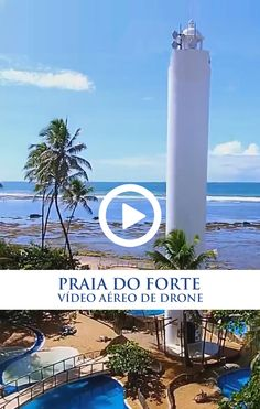 Amazing HD drone video of Praia do Forte, Bahia, Brazil.