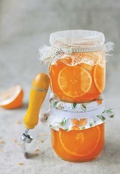 citrus-ginger jelly .. simply gifted