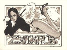 Zatanna by Mario Chavez