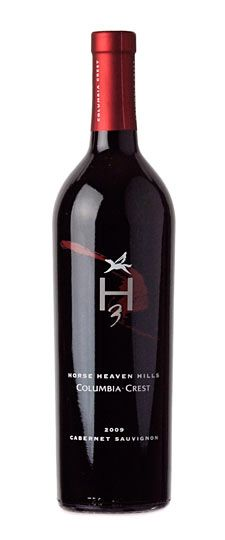 2009 Columbia Crest H3 Horse Heaven Hills Washington Cabernet Sauvignon - just opened this gift (thanks, Larry!) for our anniversary - delicious!!!  Larry says 2010 is not as good.