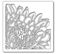 chrysanthemum stencil - Google Search