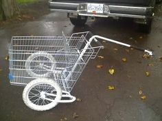 Bicycle Trailers by Tony Hoar: Build Your Own Free Utility Trailer! Dog Trailer, Kayak Trailer, Utility Trailer, Bike Cart, Bicycle Types, Cargo Rack, Cafe Bike, Puppy Training Tips, Cargo Trailers