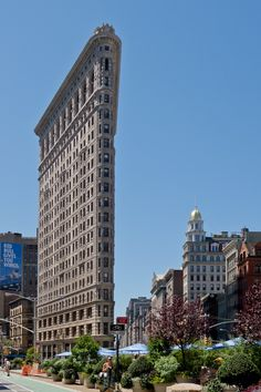 The Flatiron building from another view in Manhattan, New York ~ Photo by...Wikipedia© (Photo 2of2)