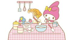My melody cooking