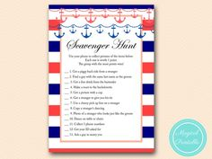 BS180-scavenger-hunt-navy-coral-bridal-shower-games-nautical-beach