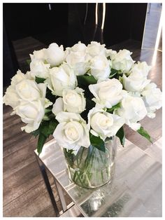 White roses today
