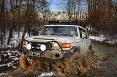 FJ cruiser mud trip.