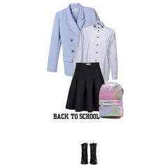 """First Day of School"" by ecem1 on Polyvore"