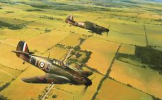 Tommy Leader, by Robert Taylor (Hawker Huricane Mk I Tom Dalton-Morgan, Battle of Britain)