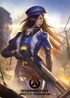 Young Ana from Overwatch